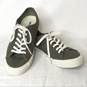 SeaVess Monterey Standard Canvas Sneakers Olive